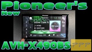 The new Pioneer AVH X490BS unboxing and review