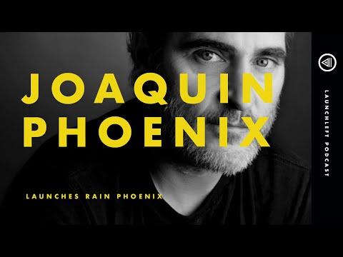 JOAQUIN PHOENIX Launches Rain Phoenix (Live)