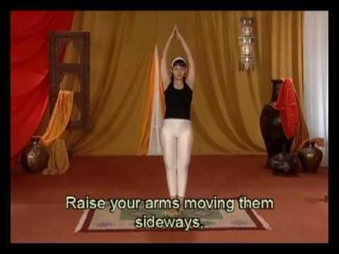 tadasana yoga for blood pressure in francais  youtube