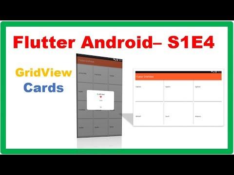 Flutter Widgets → Flutter GridView – Camposha
