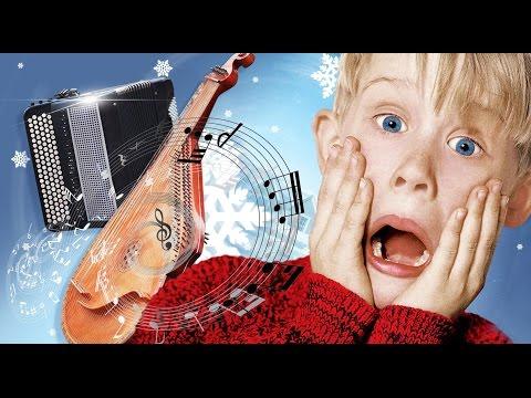 Home Alone  Soundtrack  John Williams  SomeWhere in my Memory  Christmas songs Music  Bandura