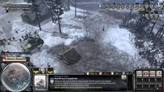 Company of Heroes 2 - Mission 12 Poznan Citadel Gameplay