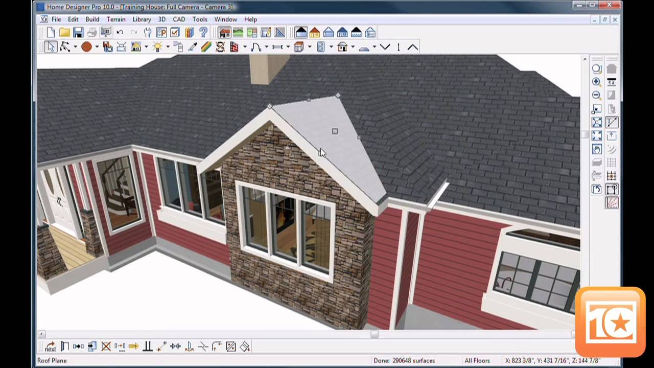 Home designer software 2012 top ten reviews youtube for Easy house design app