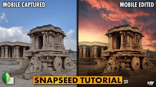 BEST WAY to Replace the Sky in SNAPSEED | SNAPSEED TUTORIAL | Android | iPhone