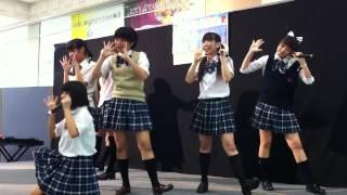 イオン那覇店 ガールズポップタイフーン 2ステージ目.