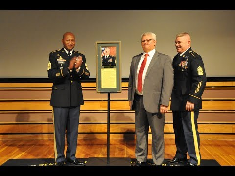 Malloy inducted into USASMA Hall of Honor