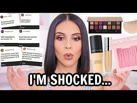 I Tried YOUR High-End Favorites...AND I'm SHOCKED!