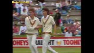 1991 Sourav Ganguly batting vs Australia RARE FOOTAGE!