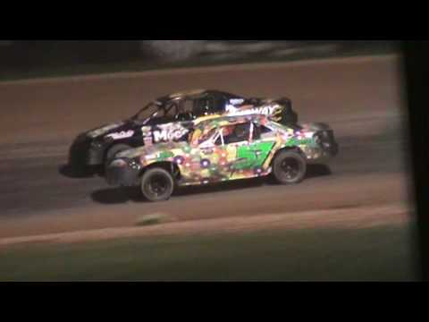 IMCA Stockcar Feature Luxemburg Speedway Luxemburg Wisconsin 6/3/16