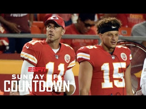 Chiefs will look to play Mahomes if Smith struggles | NFL Countdown | ESPN