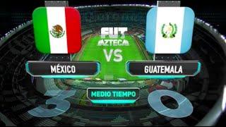 Resumen Medio Tiempo | México 3-0 Guatemala