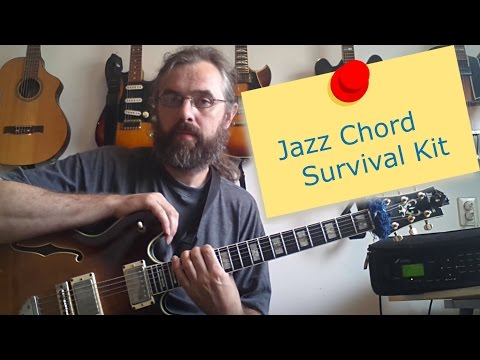 Jazz Chord Survival Kit