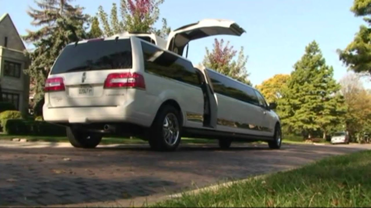 2010 Limousine Lincoln Navigator Stretch Youtube