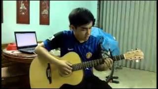 tình yêu màu nắng guitar