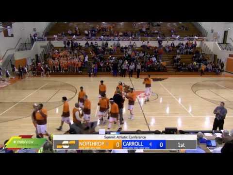 Watch Live: Carroll at Northrop | Boys Basketball Broadcast