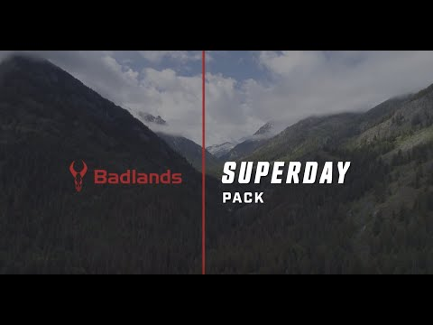 The Badlands Superday Hunting Day Pack