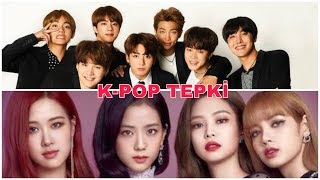 K-POP TEPKİ !!( BTS  EXO  BLACKPINK)