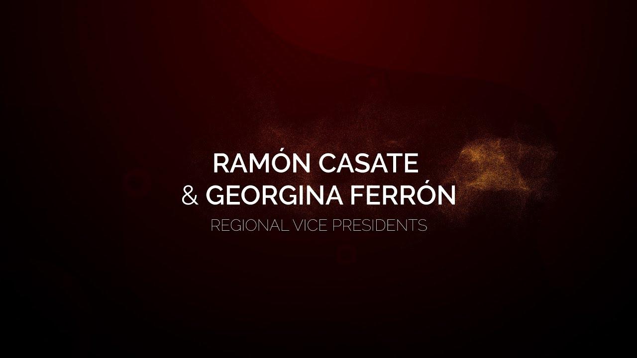 Ramón Casate and Georgina Ferrón - Promoción RVP 2021