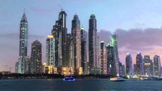 Dubai Marina Timelapse, Marina Arcade