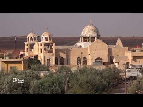 قرية خربا المسيحية تنتقل من السويداء إلى درعا