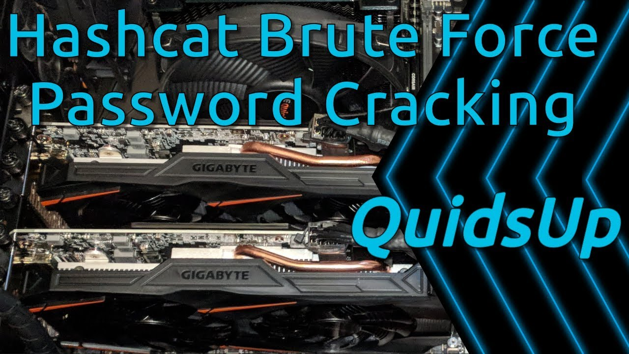 Brute Force Password Cracking with Hashcat