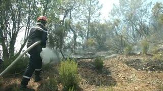 Au plus près des incendies avec les pompiers du Var à Bormes-les-Mimosas
