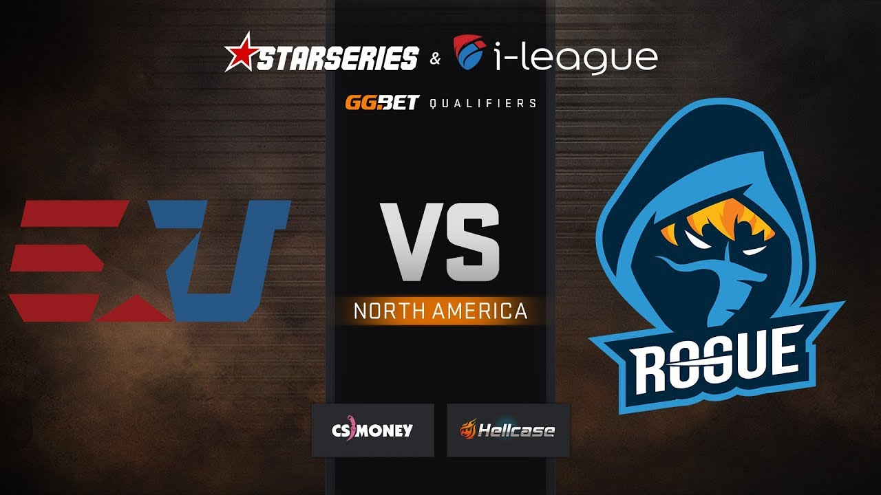 [EN] eUnited vs Rogue, map 1 Dust2, StarSeries & i-League S7 GG.Bet NA Qualifier