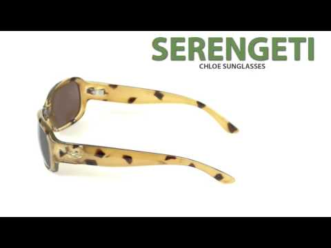6bf679109293 Serengeti Chloe Sunglasses - Polarized, Photochromic Glass Lenses (For  Women) - YouTube