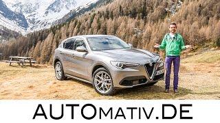 Alfa Romeo Stelvio Super First Edition (2.0l, 280 PS) im ersten Test und Fahrbericht