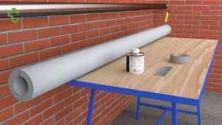 Монтаж трубной теплоизоляции Thermaflex с дополниельной фиксацией(Монтаж трубной теплоизоляции Thermaflex с дополнительной фиксацией склеиваемых поверхностей., 2014-03-18T10:58:07.000Z)