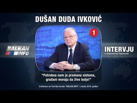 INTERVJU: Duda Ivković - Potrebna nam je promena sistema, građani moraju da žive bolje! (23.02.2018)