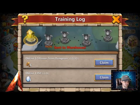 Training Log And Squad Showdown Changes? Castle Clash