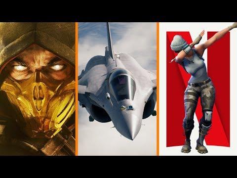 Mortal Kombat  Gameplay Revealed + Ace Combat  Reviews + Fortnite Big Competition for Netflix