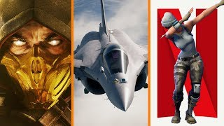 Mortal Kombat 11 Gameplay Revealed + Ace Combat 7 Reviews + Fortnite Big Competition for Netflix