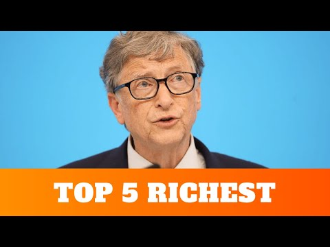 Top 5 Richest people in the world in 2020