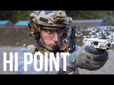 the cheapest handgun, the Hi Point