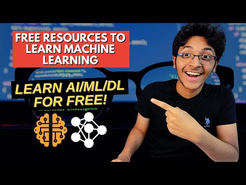 FREE RESOURCES TO LEARN MACHINE LEARNING🔥 | Learn AI/ML/DL for FREE!