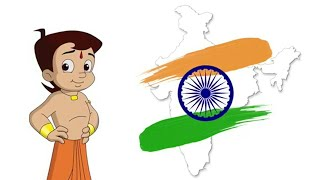 Chhota Bheem - 70th Independence day special video.