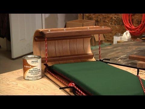 Steam Bending a Toboggan / Sled (Part 2)