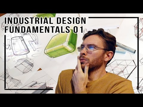 Industrial Design Fundamentals 01 Perspective