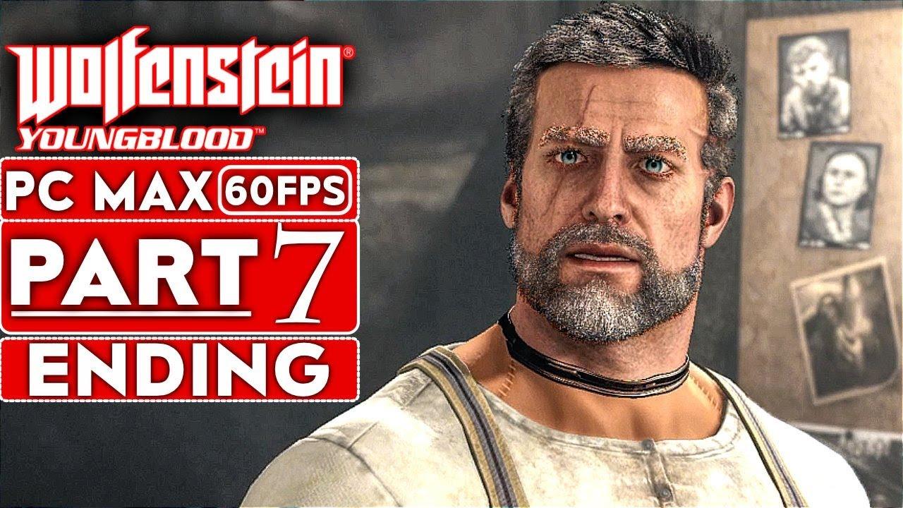 WOLFENSTEIN YOUNGBLOOD ENDING Lösungsweg zum Gameplay Teil 7 [1080p HD 60FPS PC MAX EINSTELLUNGEN] + video