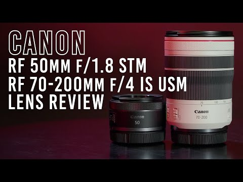 Canon Announces RF 70-200mm f/4L and RF 50mm f/1.8 Lenses and PIXMA PRO-200 Inkjet Printer; More Info at B&H