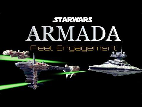 Admiral Screed vs Admiral Ackbar Star Wars Armada - Fleet Engagement Ep17