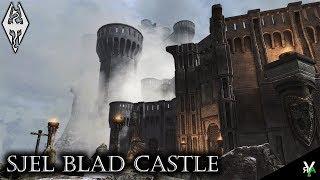 SJEL BLAD CASTLE: Massive Castle Player Home!!- Xbox Modded Skyrim Mod Showcase