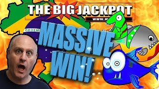 🔥MASSIVE BRAZIL JACKPOT 💣 LUCKY FISHES FREE GAMES!!! 🐠 | The Big Jackpot