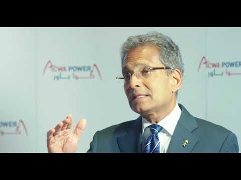 Paddy Padmanathan, CEO and President of ACWA Power International
