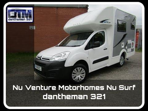 Brand New Nu Venture Nu Surf Motorhome Citroen Berlingo Full Tour