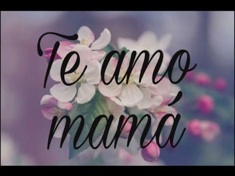 Te amo mamá (carta de Admiración para mi  mamá)