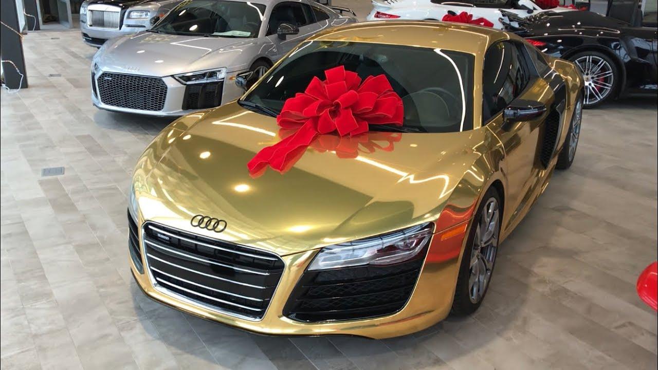 Crazy Chrome Gold R8 V10 - The Collection - Cameron Warner