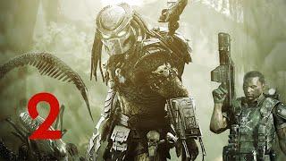 Aliens vs Predator Прохождение (Хищник) Часть 2